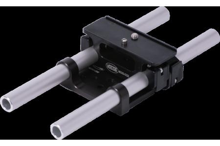 Rail support for Blackmagic Cinema camera