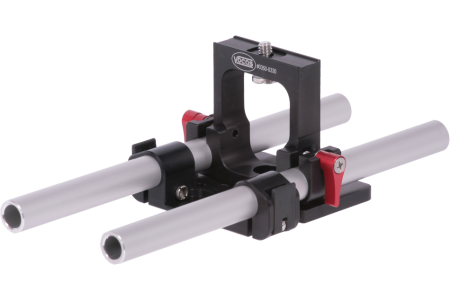 Rail support for Blackmagic Pocket Cinema Camera