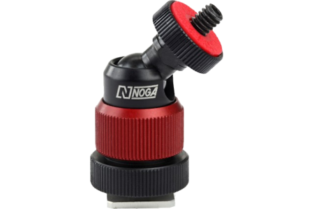 """Noga cold shoe to 1/4"""" mini joint"""