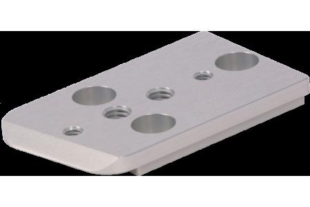 Separate Flat base plate SHORT for F55 shoulder base plate