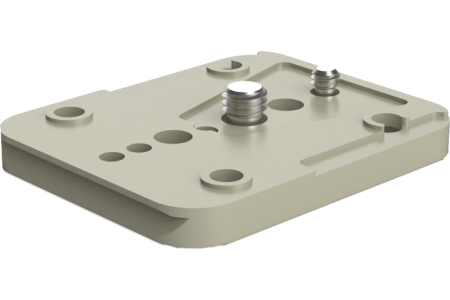 Flat base plate for USBP-15 MKII
