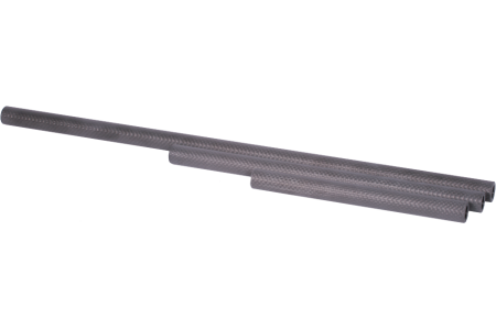Carbon 15 mm rail, length: 160 mm (1 pc.)