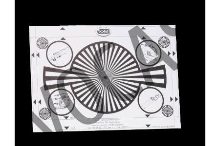 Backfocus / white card 210 x 148,5 mm A5