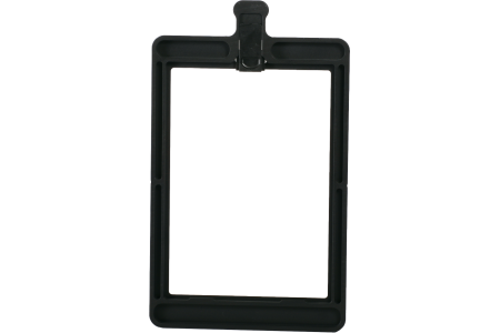 """Aluminum filter frame 4"""" x 5,65"""" fixed for MB-45X (121 mm wide)"""