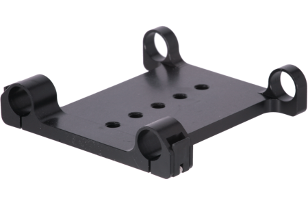 Balance plate and tripod attachment for 19 mm rails