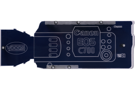 Camera dummy: Canon EOS C700