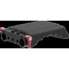 Shoulder support compact for 15 mm rails