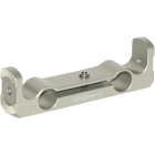 Straight handgrip 15 mm rail bracket