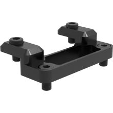 Support bridge for cheese plate Sony PMW-F5/55 using AXS-R7 recorder