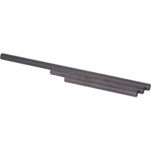 Carbon 19 mm rail, Length 400 mm (1 pc.)