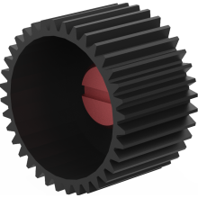 MFC-2 / 6 drive gear M0,8 x 36 T x 18 mm wide