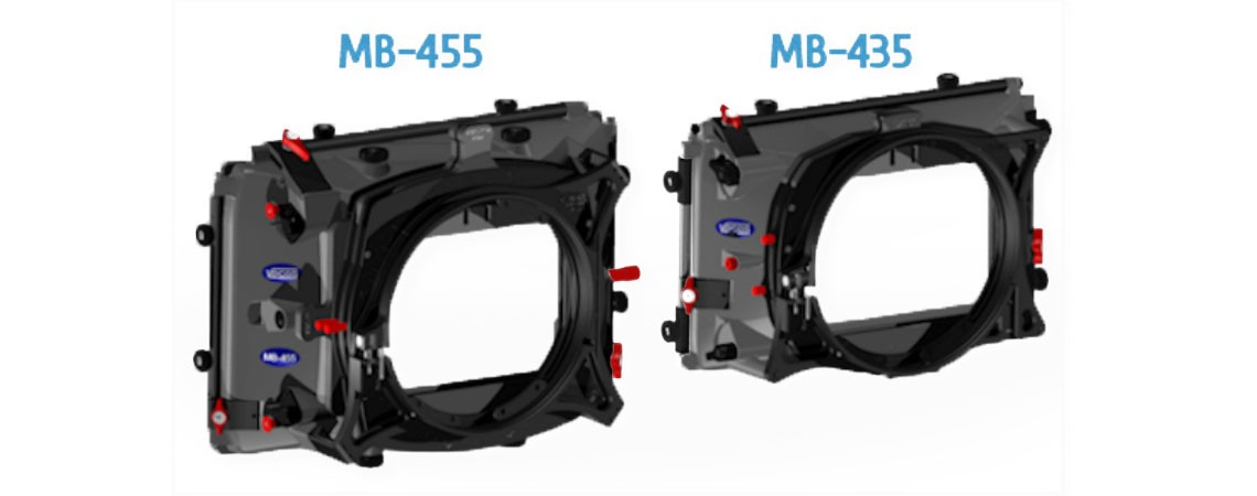 New matte boxes the MB-435 & MB-455