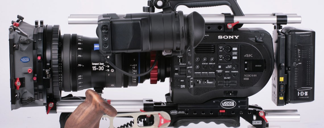 Sony PXW-FS7 accessories available