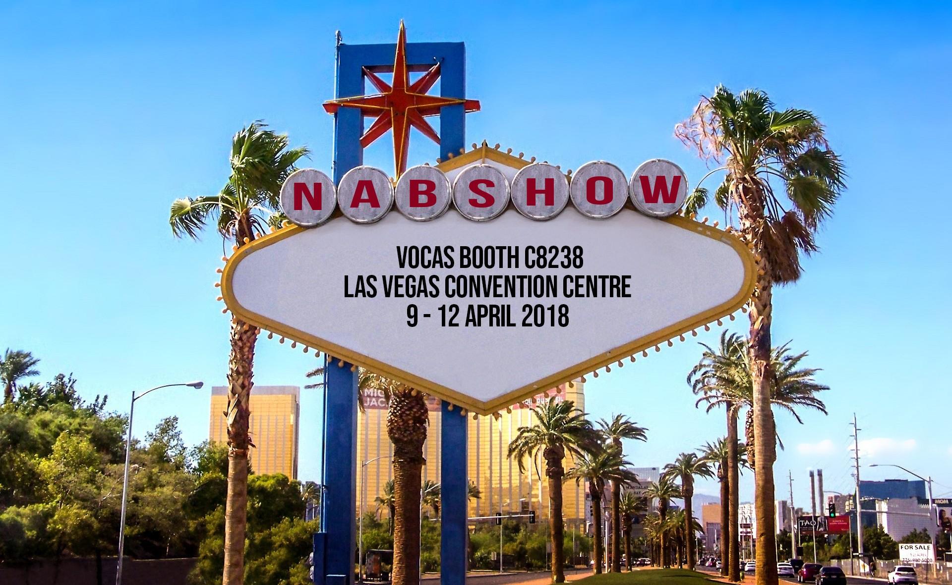 Vocas at NAB 2018 in Las Vegas